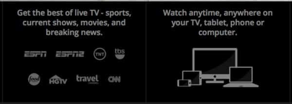 how to sign up for sling tv