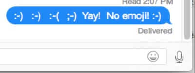 How to Turn Off Emoji in iMessage and Instead Use Text Smiley Faces