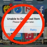 How to Fix the Unable to download item. Please try again later iOS Error