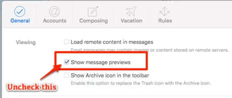 icloud message preview settings