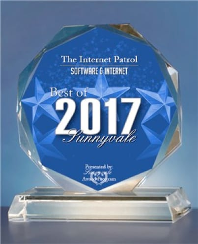The Internet Patrol Receives 2017 Best of Sunnyvale Award