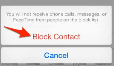 How to Block Someone from Calling or Texting Your iPhone ...