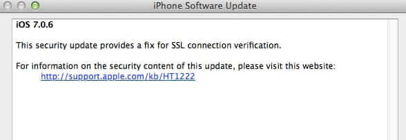 iphone security update ssl connection