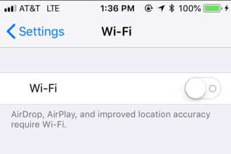 iphone setting settings wifi off