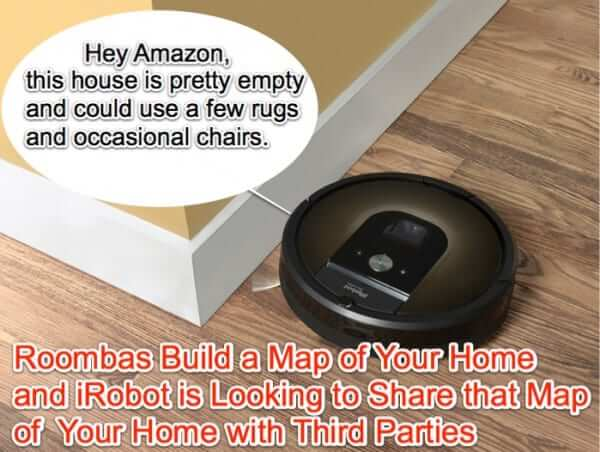 Your Roomba May be Mapping Your Home and Sharing Your Home Map