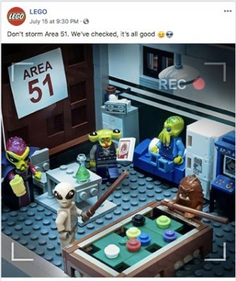 lego dont storm area 51 weve checked its all good