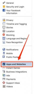 limit facebook tracking