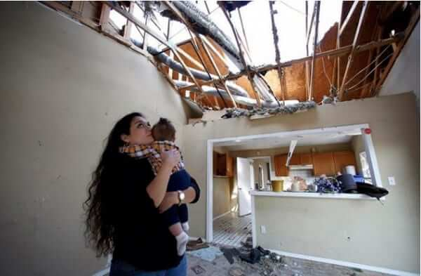 lindsay diaz and infant son house home demolished by mistake google maps