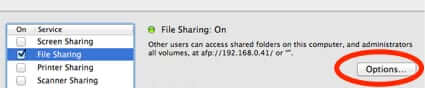mac file sharing settings