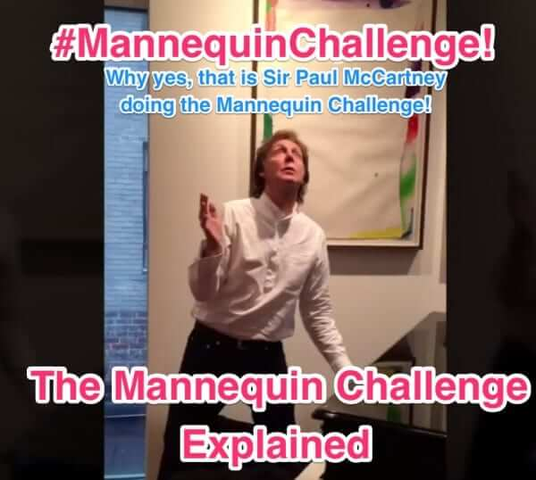 What is the new viral Mannequin Challenge? We explain #MannequinChallenge 2016!