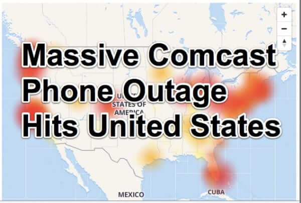 Massive Comcast Phone Outage Across the Country for Second Day in a Row