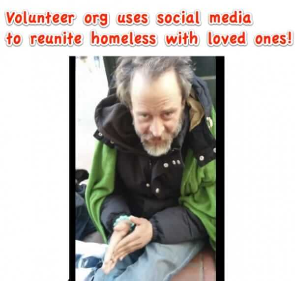 Miracle Messages Uses Social Media to Reunite Homeless with their Loved Ones