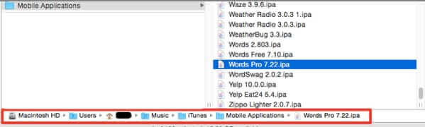mobile applications folder permanently delete apps mac