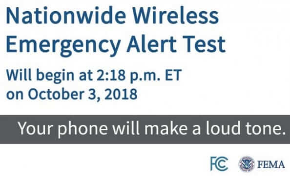 Feds Test Nationwide Mobile Phone Emergency Alert Today - Don't Panic