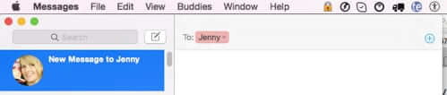 new message to jenny