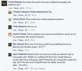 ofallon police department pokemon robberies robbers
