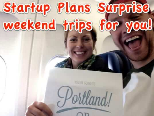 Online Startup Plans Surprise Weekend Get-Aways for You – All You Have to do is Show Up