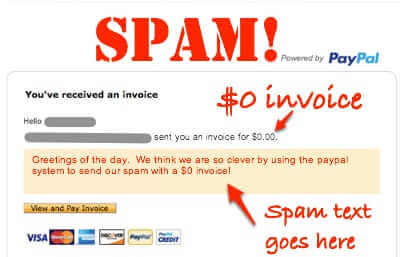 Got a $0 Invoice Through Paypal? It May be the Newest Way of Spamming  You