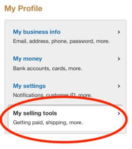 paypal my selling tools