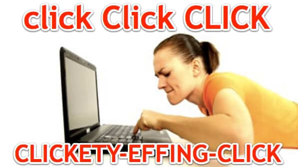 Are You a Rage Clicker? Don't Rage Click Because Rage Clicking Doesn't Help!