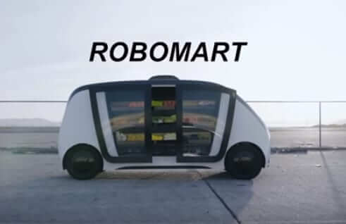 robot mart convience store autonomous minimart on wheels