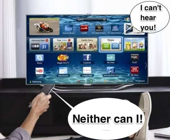 Samsung Advises that Smart TV NOT Always Listening and Sharing Everything