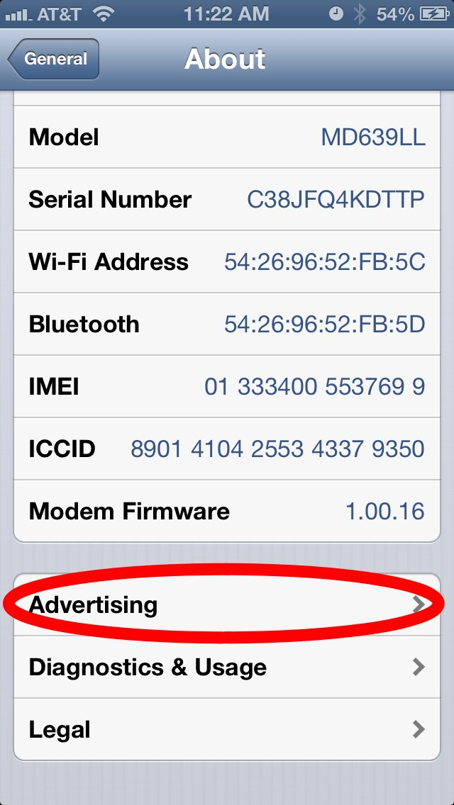 iPhone 5's iOS 6 Automatically Opts You In to Being Tracked by Advertisers by Default – Here's How to Turn it Off