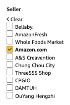 seller amazon.com remove fresh whole foods options