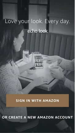 sign in to amazon account for look-1