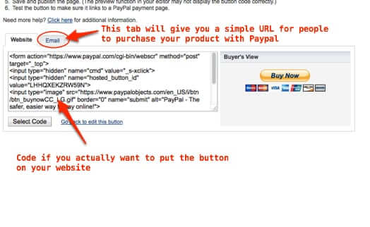 How to Add Products in Paypal for Use with a Mailing List API
