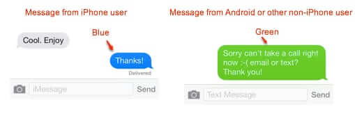 sms android to imessage
