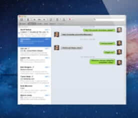 sms text message on imessage mac