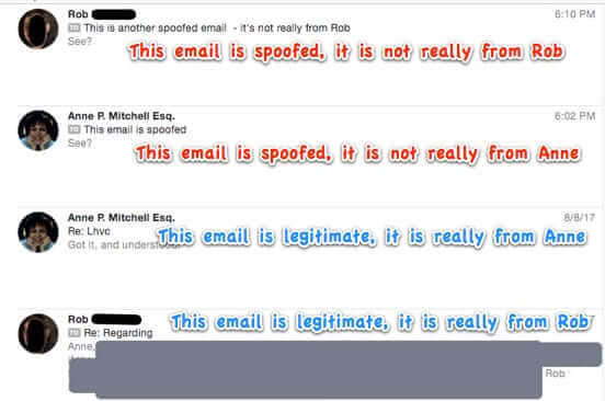 spoofed email looks real with contacts photos and names-4-2