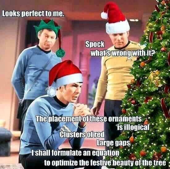The Star Trek Christmas Tree