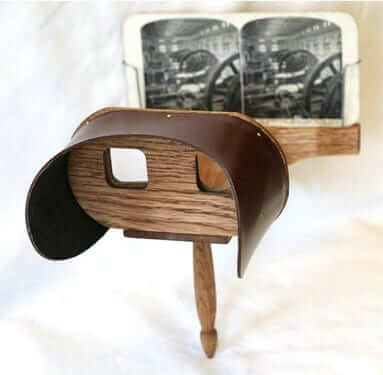 old fashioned stereoscope