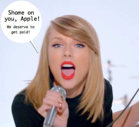 How Taylor Swift Brought Apple to Their Knees