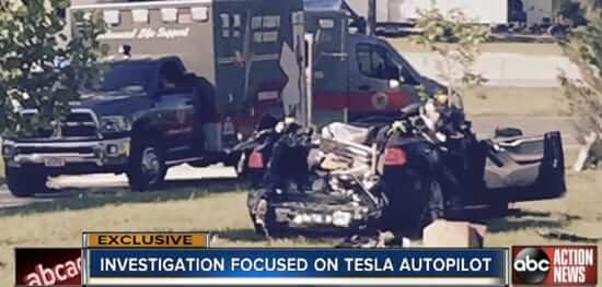 "As Second Tesla Autopilot Crash Revealed, Musk says ""Not Material"""