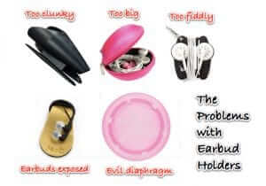 The Perfect Earbud Holder to Wrap, Store and Keep Your Earbuds from Getting Tangled!