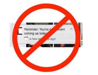 How to Turn Off Facebook Event Reminder Notifications