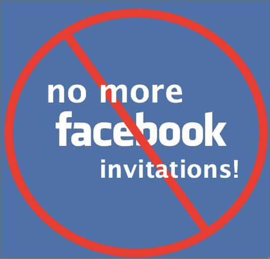 How to Block All Facebook Event Invitations