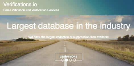 verification.io largest database in the industry