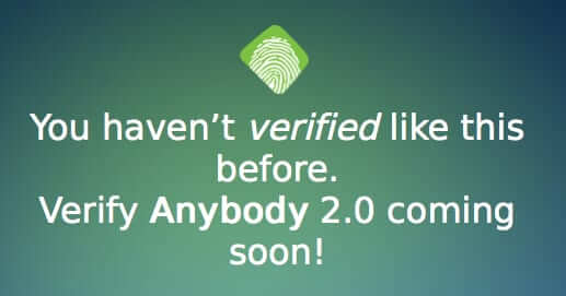 verify anybody friend verifier