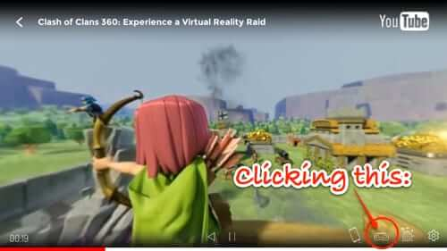 viewing youtube 360 video in360tube app