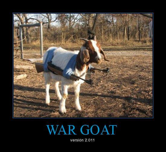 Is World War Goat Coming?